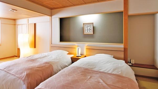 ◆和モダン・ツインベッドルーム(禁煙)◆