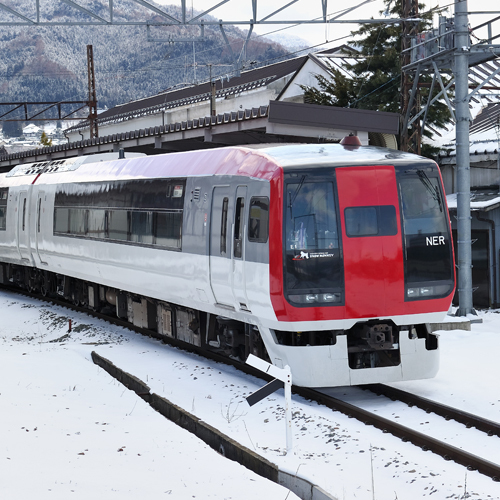 ■長野電鉄 特急車両「スノーモンキー」■