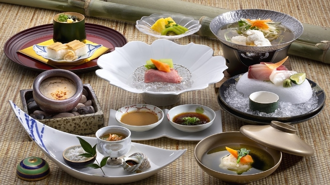 駐車場無料 日本料理「藍彩」でいただく徳島の味覚『阿波うまいもん会席』