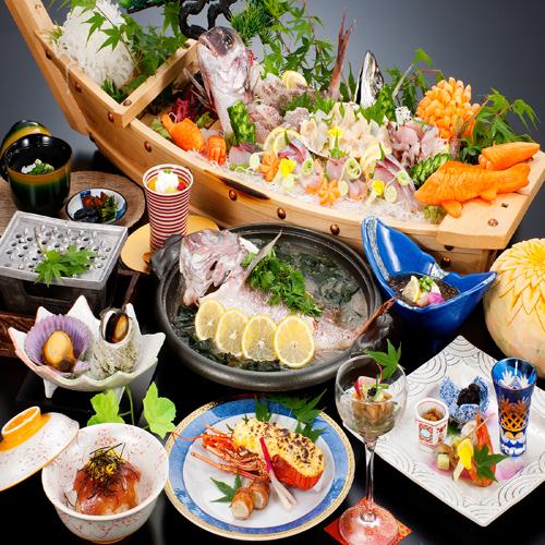 【磯香会席】平日限定のお得な会席。伊勢志摩の海の幸をご堪能ください!