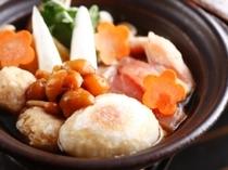 【冬鍋】地鶏きのこ鍋