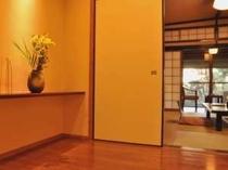 【花の舎和洋室】