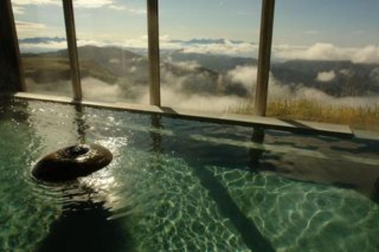お風呂からの景色