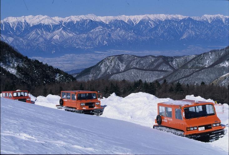 雪上車体験 12月中旬~3月下旬 宿泊者無料