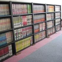 4階&6階漫画コーナー★約1300冊!