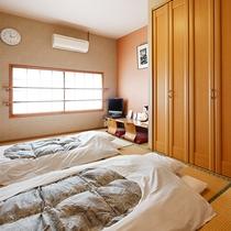 【和室一例】畳のお部屋もございます