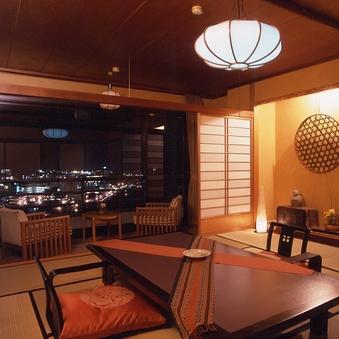 <川のほとり>和室10畳[禁煙]【温泉街を望むお部屋】