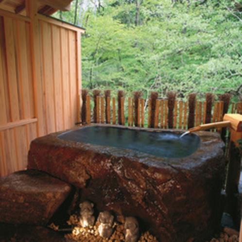貸切露天風呂「石の湯」