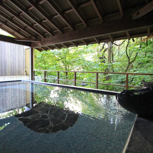 貸切野天風呂「紅葉」2012−1