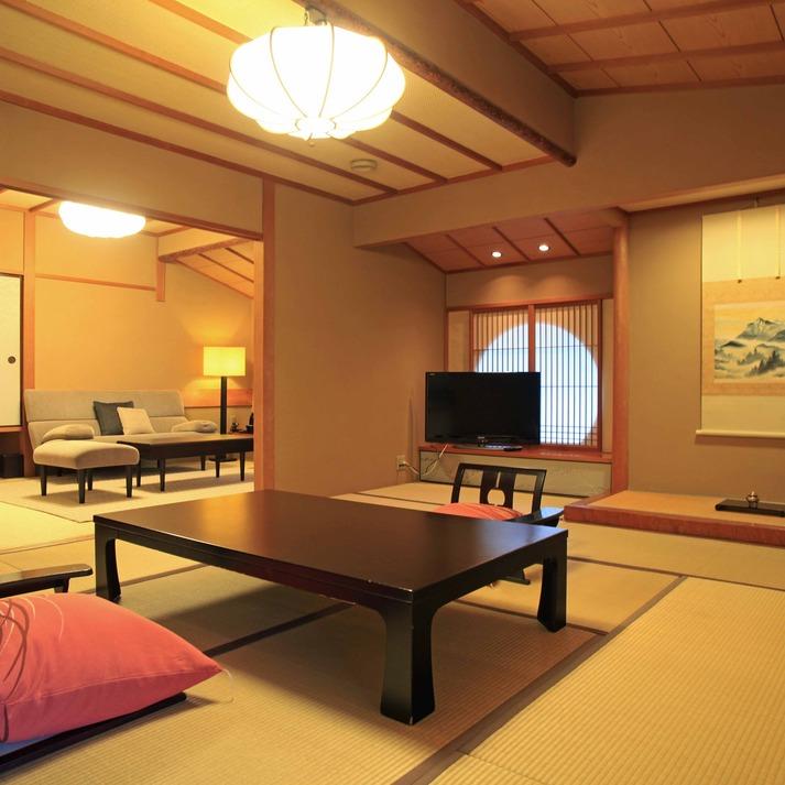 つま側客室 11畳+6畳