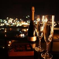 ロマンチックに夜景を楽しむプラン