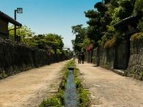 ◆武家屋敷:島原市は、海と山に囲まれた ゆったりとした時間が流れる 自然と歴史のまちです。