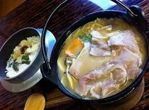 猪豚小鍋&釜飯