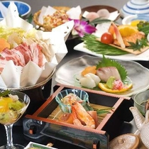 【お料理】いのぶた会席