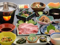 夕食一例【天鯉膳】