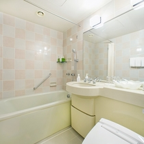 ゲストルームダブルのバスルーム
