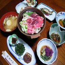 *【お料理(全体例)】山形の食材を中心とした郷土料理の数々。