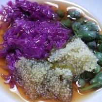 *【お料理(一例)】四季の味が色とりどり♪