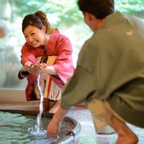 貸切風呂も人気♪ご予約の上ご利用いただけます☆45分2000円☆彡
