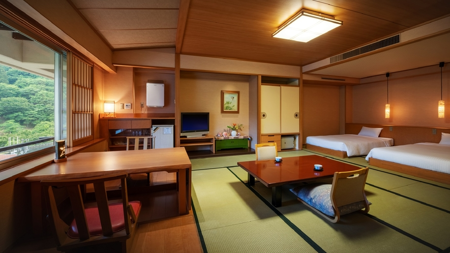 【展望露天風呂付客室】客室一例