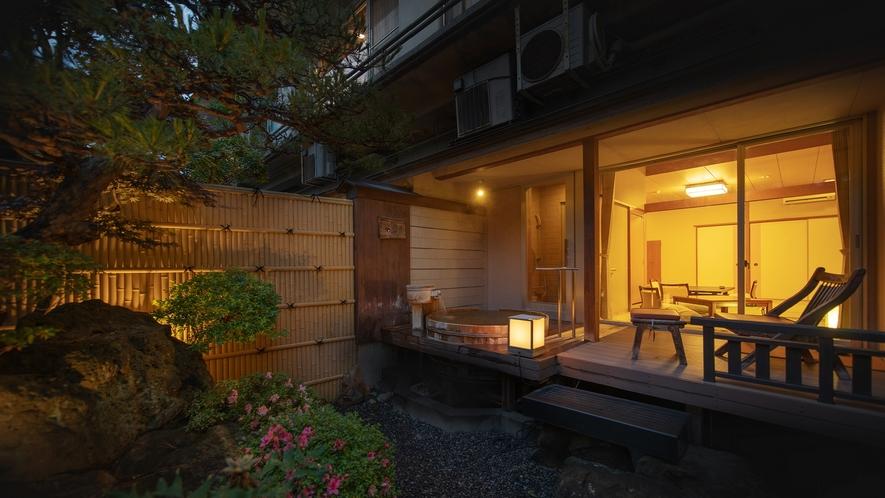 【庭園露天風呂付客室】