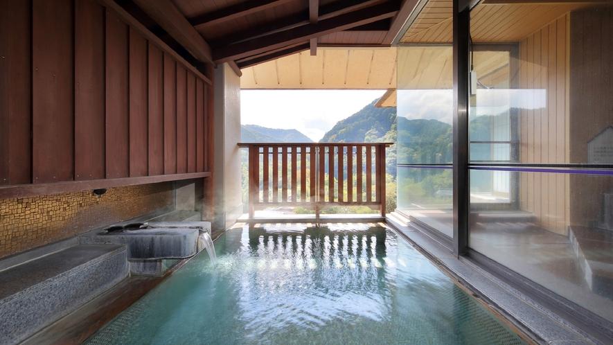 【展望大浴場】萩姫の湯 露天風呂