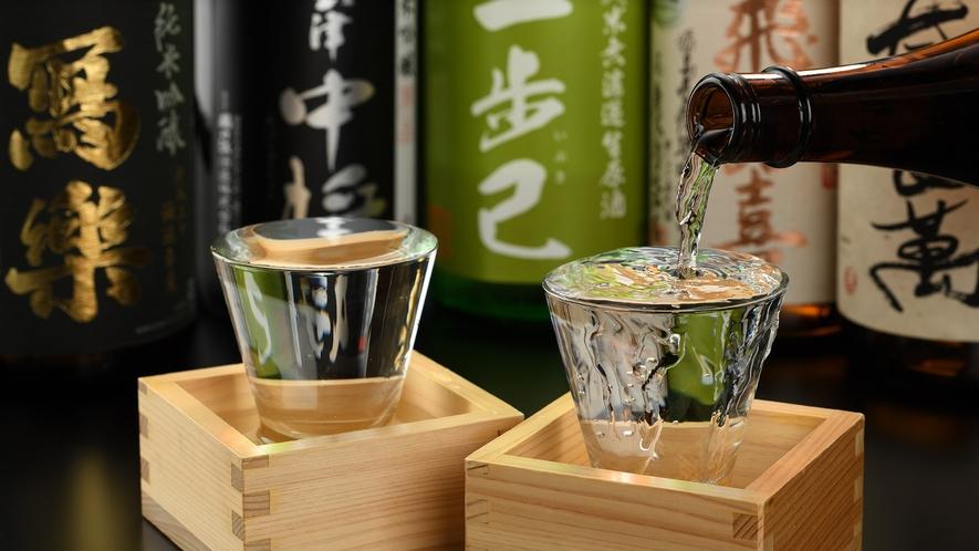 【こだわりの日本酒をご用意】