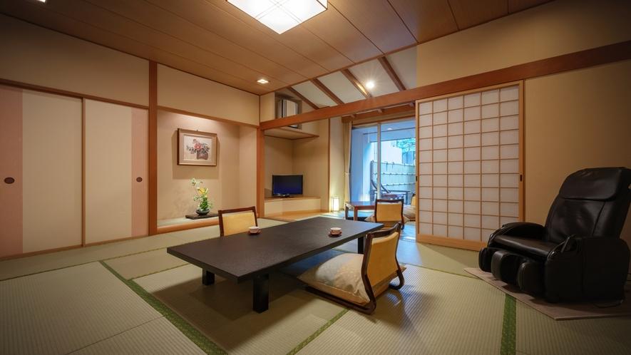 【庭園露天風呂付客室】客室一例
