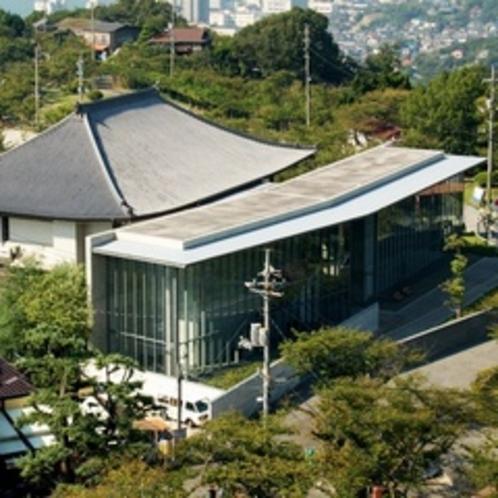 【尾道市立美術館】2003年1月世界的な建築家『安藤忠雄』氏の設計に基づいてリニューアルされました。