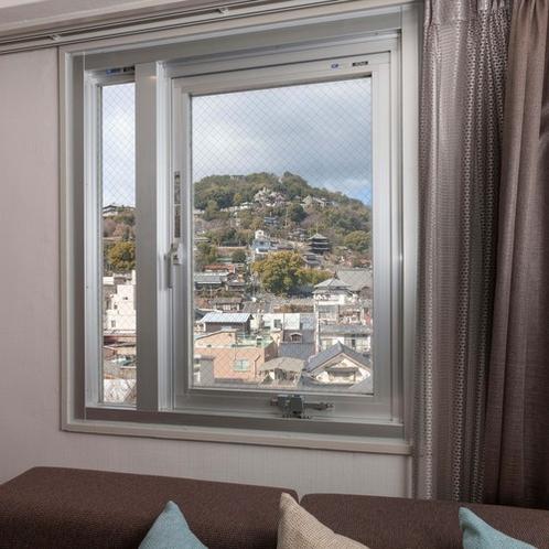 千光寺側の客室からの眺望(一例)