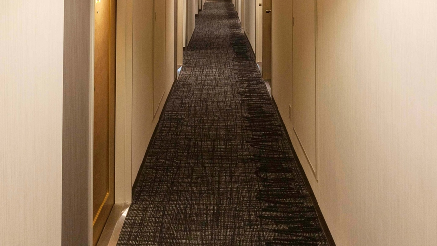 客室フロア廊下(一例)