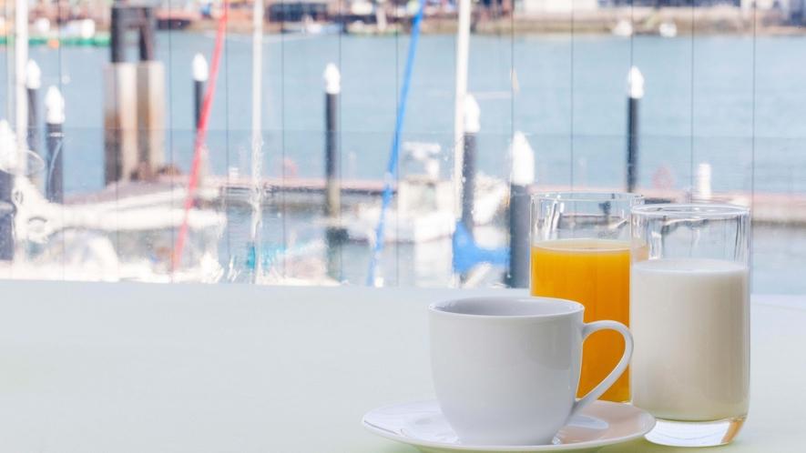 大切な朝ごはん(レストランからの眺望)