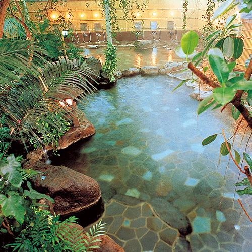 ジャングル大岩風呂