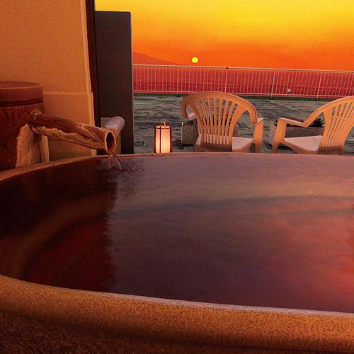 展望貸切陶器風呂「大島」