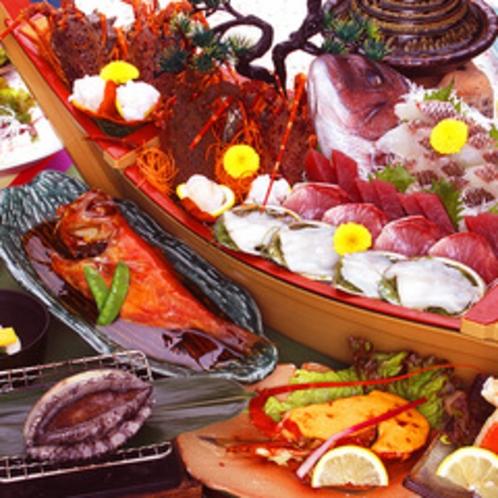 舟盛り料理