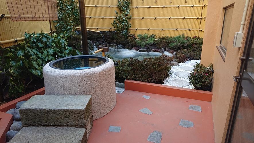 2019年4月7日より庭園風呂&温泉蒸し風呂OPEN