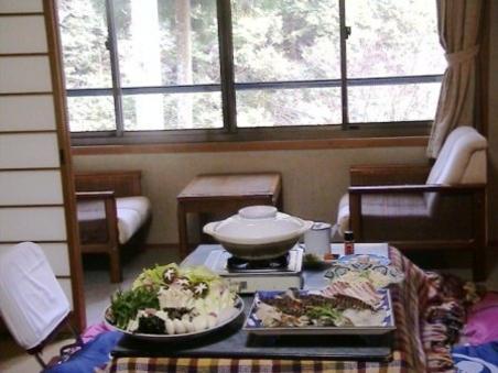 和室14畳・夕食別部屋