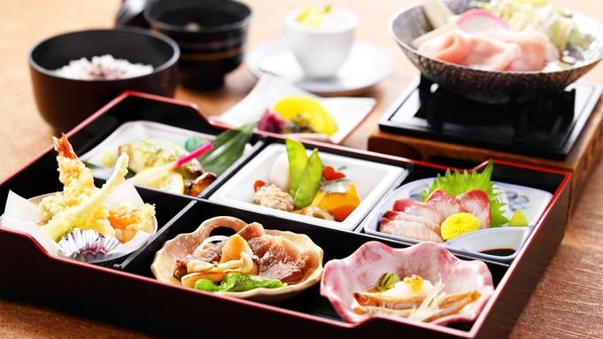 【夕朝2食付き】夕食はお部屋食も可能♪ 撫子御膳より量が少し多め 「菊御膳プラン」