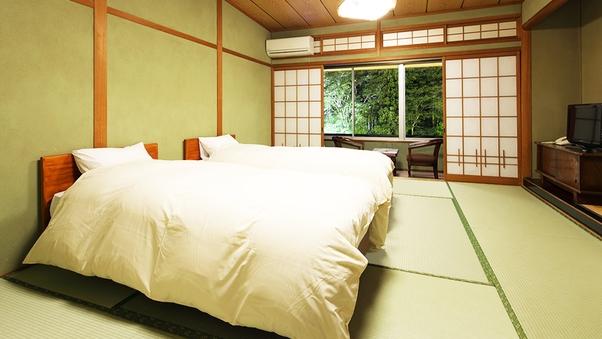【禁煙】エコノミー 和室10畳 ツインベッド