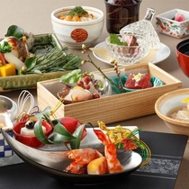 日本料理「旬彩」雅会席(イメージ)