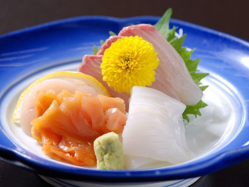 日本海のお造りの一例