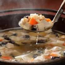 会津伝統料理「こづゆ」