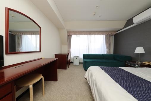 【禁煙・シングル】 20平米 ベッド幅140cm