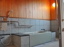バリアフリー客室 浴室