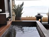 客室付露天風呂 一例