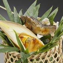 【料理一例】 料理長がその日一番の素材を厳選してご用意する料理プランはオススメです。