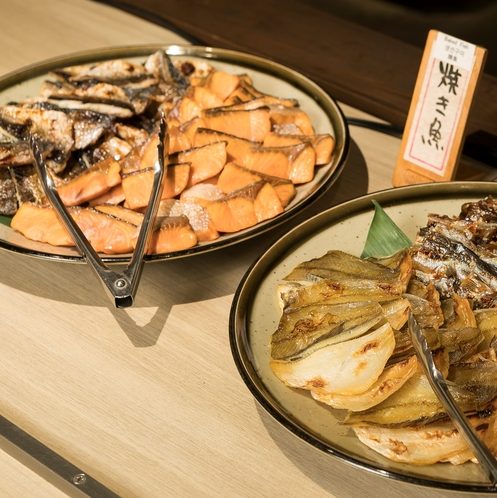 【朝食】朝はやっぱり焼き魚!