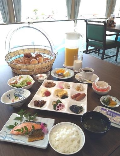朝食個人膳(イメージ)