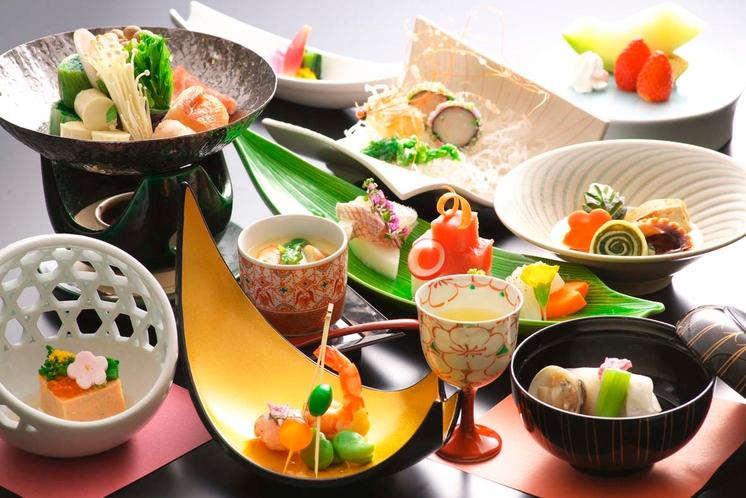 季節の和食会席コース一例