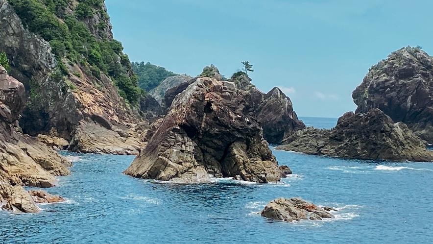 恵比須浜先の太平洋